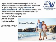 #Varicose #Vein Treatment - EVLT Laser Quick Painless Treatment  http://www.usaveinclinics.com/