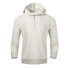 [US$53.07] Fashion Mens Half-cardigan Cotton Hoodies #fashion #mens #halfcardigan #cotton #hoodies