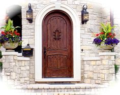 love this door, but may be unrealistic given how small front is