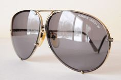 love these ~ Vintage Carrera, 5621 Porsche Design Sunglasses, DCHS7970, made in Austria, grey gradient lenses, mens, aviator style.  https://www.etsy.com/listing/119428960/vintage-carrera-5621-porsche-design#