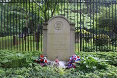 Grave of President Theodore Roosevelt at Youngs Memorial Cemetery in Oyster Bay, New York. Served from 1901-1909.