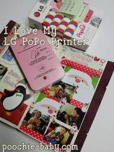 LG PoPo Printer for Planners and Journals