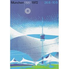 1972: Munich, Germany Olympic Poster