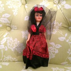 Ten Dollar Sale Vintage Doll of Spain Dolls by UpcycleRecycleShop
