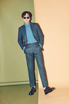 Lee Dong Hwi - Customellow (F/W '16)