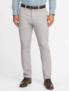 Athletic Built-In Flex Signature Non-Iron Dress Pants for Men