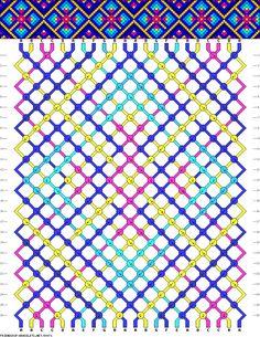 Friendship bracelet pattern 89071 new Thread Bracelets, Embroidery Bracelets, Loom Bracelets, Macrame Bracelets, Handmade Bracelets, Macrame Knots, Micro Macrame, Beaded Necklaces, Pandora Bracelets