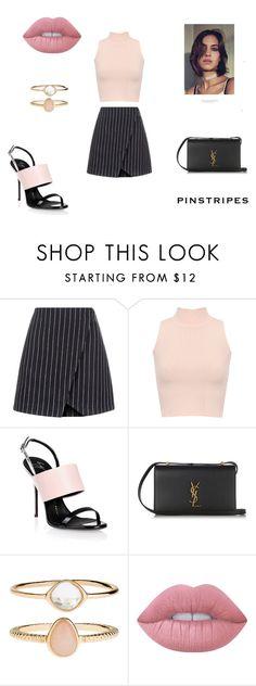 """Başlıksız #121"" by iremissy on Polyvore featuring moda, New Look, WearAll, Giuseppe Zanotti, Yves Saint Laurent, Accessorize ve Lime Crime"
