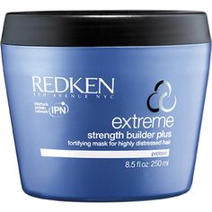 Buy Redken Extreme Strength Builder (250ml) , luxury skincare, hair care, makeup and beauty products at Lookfantastic.com with Free Delivery.