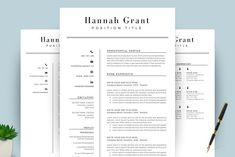 Ad: Clean Resume/CV Template Word by TemplateCrafts on This professionally designed resume/CV template will not only save you time, it will make your resume look professional and balanced by Resume Summary, Resume Tips, Resume Cv, Resume Writing, Resume Examples, College Resume Template, Best Resume Template, Cv Template, Business Brochure