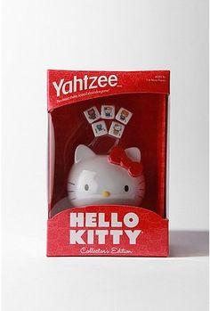 Hello Kitty Yahtzee!!