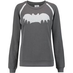 Zoe Karssen Printed cotton-blend terry sweatshirt (780 SEK) ❤ liked on Polyvore featuring tops, hoodies, sweatshirts, anthracite, zoe karssen sweatshirt, terry top, terry sweatshirt, print top and relaxed fit tops