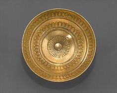 Etruscan Gold Bowl C.700BC Cyprus The Metropolitan Museum of Art