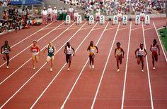 Final olímpica 100metros