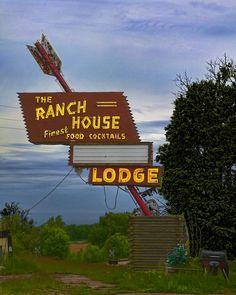 Ranch House Lodge....Bureau County, Illinois...... by Pete Zarria