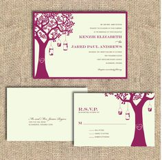 Love, Love, LOVE this invitation for our country chic wedding!!! :-)