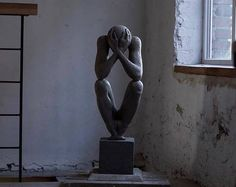 """""""The Man Without A Rod"""", Fabulous Sculpture by Sergii Shaulis"""