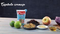 Apple, Fruit, Cooking, Food, Purple Cabbage Slaw, Cream, Healthy Vegetarian Meals, Vegan Food, Food Items