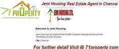 Jemi Housing Real Estate Agent/ Brokers in Chennai, Tamil Nadu.