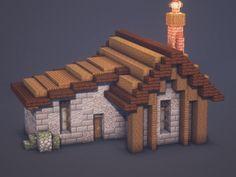Mine Minecraft, Minecraft Castle, Cute Minecraft Houses, Minecraft Room, Minecraft Plans, Minecraft House Designs, Minecraft Tutorial, Minecraft Blueprints, Minecraft Creations