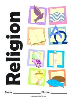 religion deckblatt religion unterricht pinterest. Black Bedroom Furniture Sets. Home Design Ideas