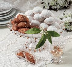 """Traditional Greek Treasures    Kourabiethes and Melomakarona  The flavor of Greece...LitsaB recipes from the book """"Take the taste of Greece with you"""" Get it fro my site http://hummingbirdpublications.com"""