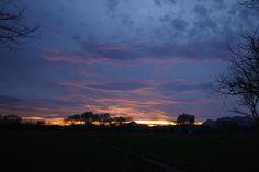 Atardecer invernal.    Enero 2014.  Meoqui Chihuahua.    #winter #sunset #meoqui