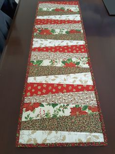 Denise's Christmas table runner 2#
