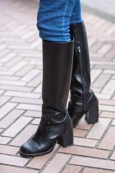 Tokyo Streets, Shibuya Tokyo, Tokyo Street Style, Long Boots, Japan Fashion, Autumn Summer, Skinny Pants, Fashion News, Emoda