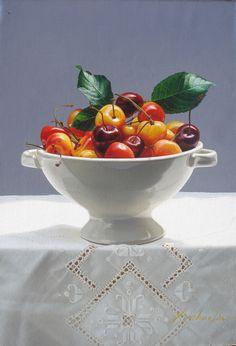 "Yingzaho Liu ~ ""cherries in the bowl"""