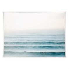 Soft colour tones dominate in this breathtaking image of ocean swell lines by Newcastle-based photographer Brad Malyon. Embrace coastal vibes with the Lines framed canvas print. Brad Malyon Framed Canvas Size W x D x H in Lines Ocean Room, Ocean Art, Framed Canvas Prints, Canvas Frame, Canvas Size, Santa Monica, Freedom Furniture, Best Leather Sofa, Windows