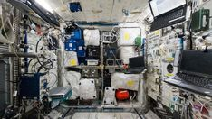Take a panoramic tour of the ISS's Columbus laboratory