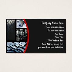 Elegant Auto Body Business Cards