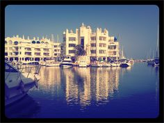Benalmadena - marina / Luxury boats and hotels in Benalmadena   / Spain / vacation / holiday / Travel