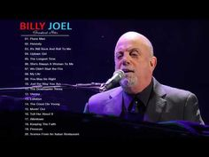 Billy Joel Playlist - Billy Joel Greatest Hits - The Very Best of Billy Joel [Full Album Live] Billy Joel Music, Billy Joel Greatest Hits, Nassau Coliseum, Madison Square Garden, Guitar Songs, Hit Songs, Me Me Me Song, Music Tv, Music Publishing