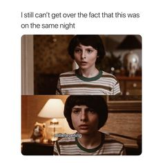 """15.3k Likes, 203 Comments - Stranger Things (+) posts ❥ (@millielleven) on Instagram: """"he changed a lot in one night! - {#finnwolfhard #strangerthings}"""""""