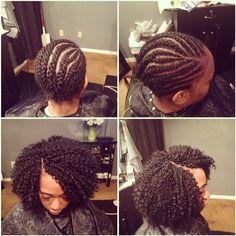 Crochet braids done with bohemian hair. Crochet braids done with bohemian hair. More from my siteNaturel Hair Care : Crochet using Freetress Bohemian Braids. Crotchet Braid Pattern, Crotchet Braids, Crochet Braids Hairstyles, Bohemian Hairstyles, Trending Hairstyles, Braided Hairstyles, Bohemian Braids, Updo Hairstyle, Prom Hairstyles