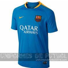 Venta de uniforme del entrenamiento azul Barcelona 2015-16 56d569883b4fa
