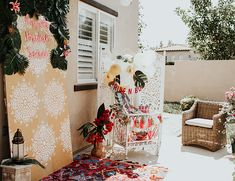 Bright Moroccan Bridal Shower