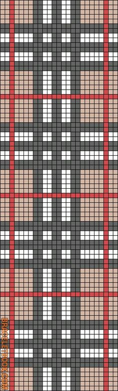 Rotated Alpha Pattern added by christalxo. no color chart available, ju. - Rotated Alpha Pattern added by christalxo… no color chart available, just use the pattern - Bead Loom Patterns, Peyote Patterns, Weaving Patterns, Cross Stitch Patterns, Cross Stitches, Knitting Charts, Knitting Stitches, Knitting Patterns, Crochet Patterns