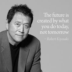 """Robert Kiyosaki's book """"Rich Dad, Poor Dad"""" changed my life! Dream Quotes, Me Quotes, Motivational Quotes, Inspirational Quotes, Rich Quotes, Wisdom Quotes, Robert Kiyosaki Books, Robert Kiyosaki Quotes, Tony Robbins"""