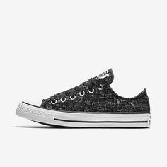 Mens Womens Unisex Smart Converse Chuck Taylor All Star Low Casual Shoes Unbleache Clear-Cut Texture