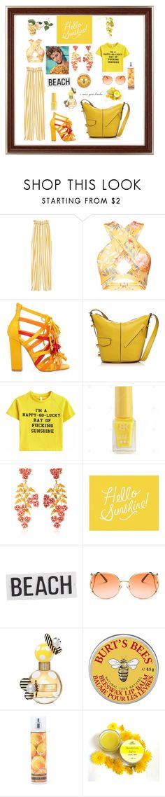 """""""I MISS MY SUNSHINE EVERYDAY"""" by giagiagia ❤ liked on Polyvore featuring Maison Margiela, Privileged, Marc Jacobs, Jennifer Behr, Pottery Barn and Nicole Miller"""