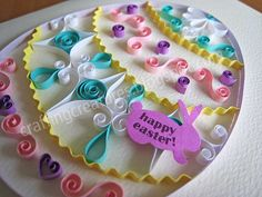 quilling easter | quilling | Crafting Creatures | Page 2