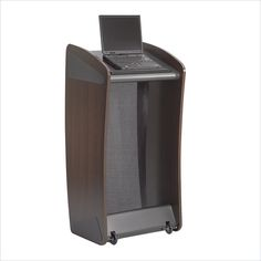 Safco Ovation Lectern in Mahogany - 8913MH - Lowest price online on all Safco Ovation Lectern in Mahogany - 8913MH