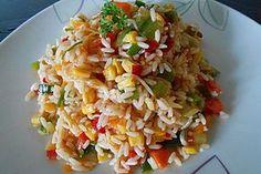 Reissalat, ein schmackhaftes Rezept aus der Kategorie Gemüse. Bewertungen: 46. Durchschnitt: Ø 4,2.