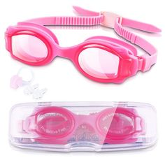 Waterproof Swim Goggles Swimming Glasses With Clear Vision