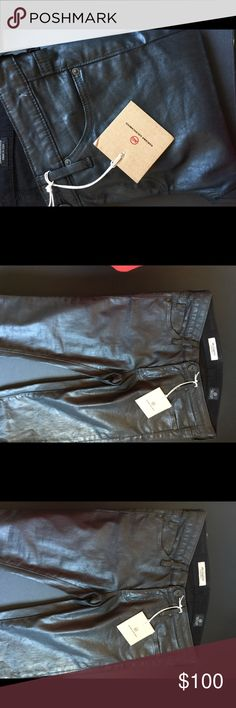 AG skinny jeans Waxed Ag Adriano Goldschmied Jeans Skinny