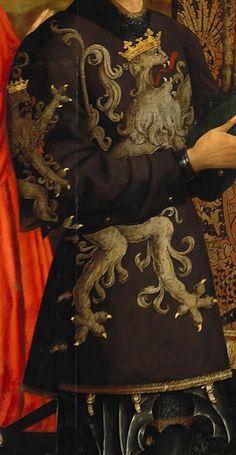 Goswijn van der Weyden (1455-1543) - Maria with the child and founders