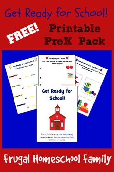 Free Get Ready for School Printable Pack - Money Saving Mom®